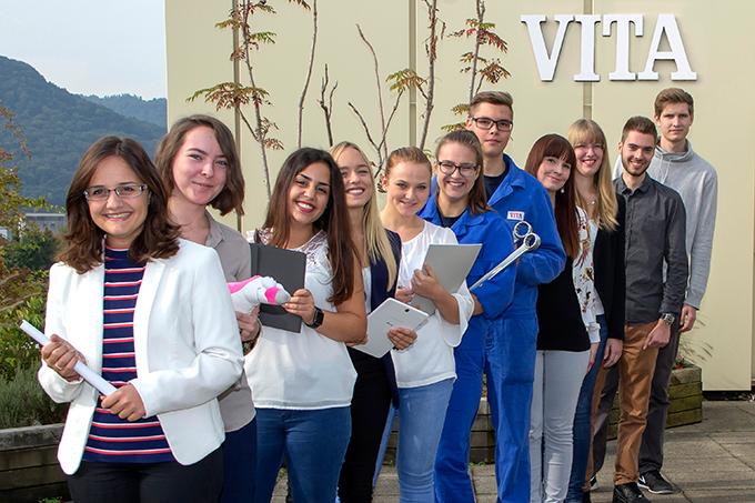 Ausbildung, Studium und Praktik VITA Zahnfabrik
