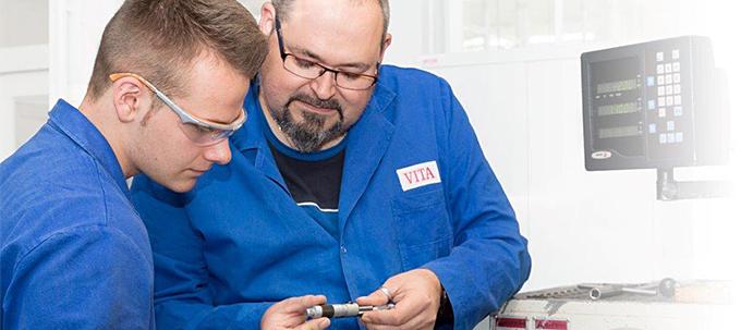 VITA Ausbildung zum Industriemechaniker