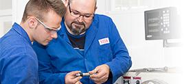 Ausbildung zum Industriemechaniker bei der VITA Zahnfabrik