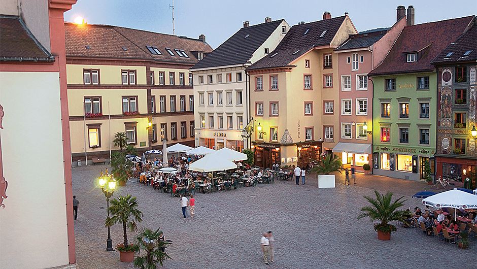 Münsterplatz in Bad Säckingen