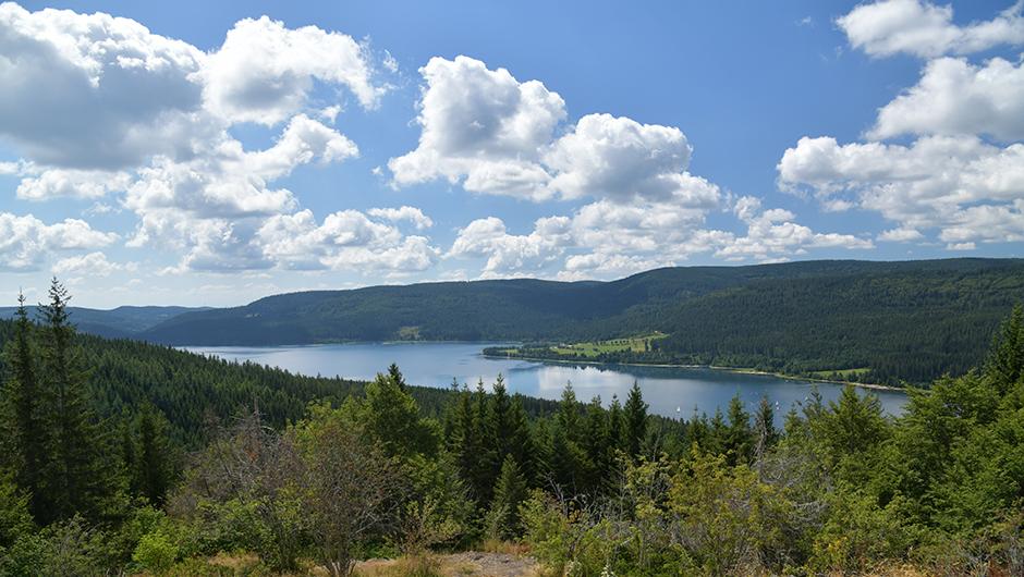 Mirador Bildstein del lago Schluchsee