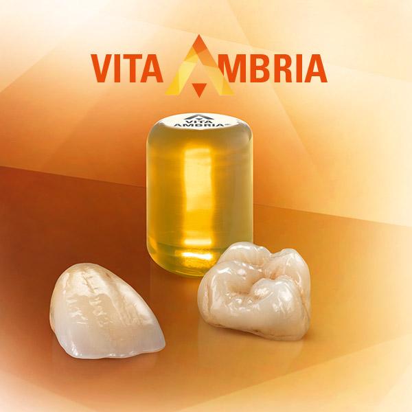 Lingotin en céramique pressée VITA AMBRIA et couronnes