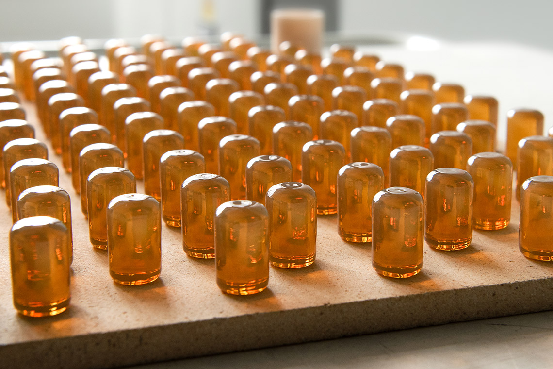 VITA AMBRIA Press Ceramic pellets after crystallization