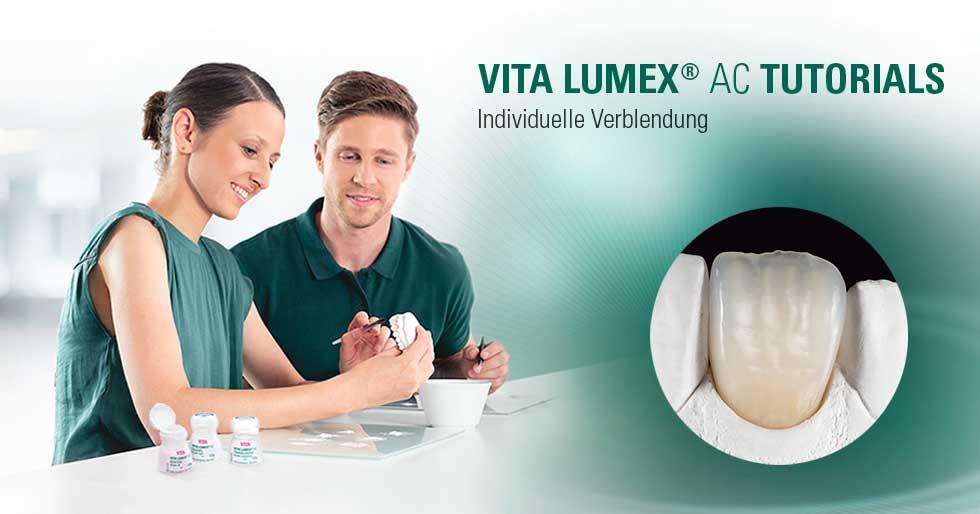VITA LUMEX® AC Video-Tutorials