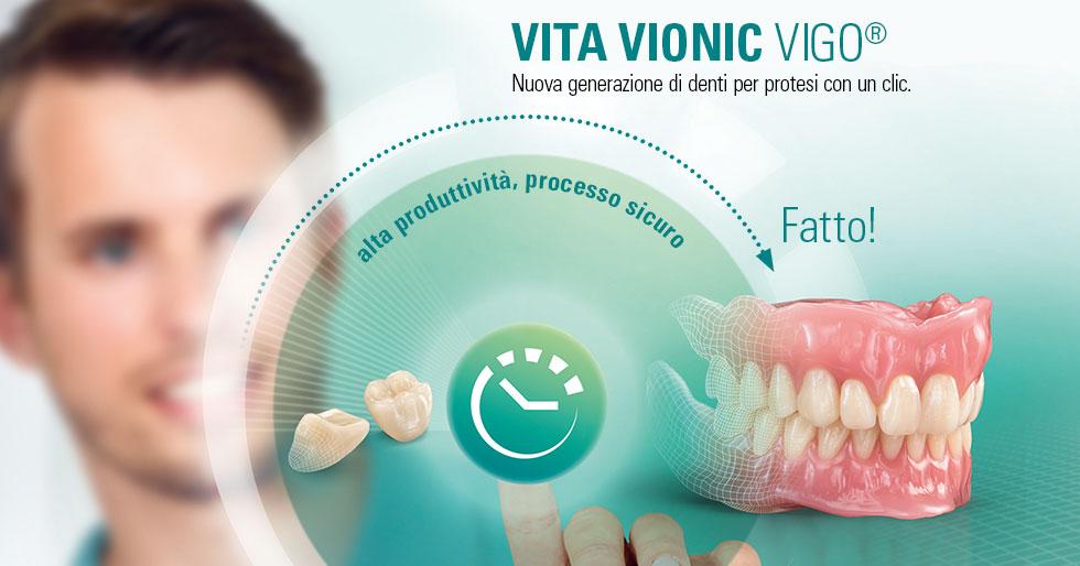 VITA VIONIC VIGO®. Protesi digitali
