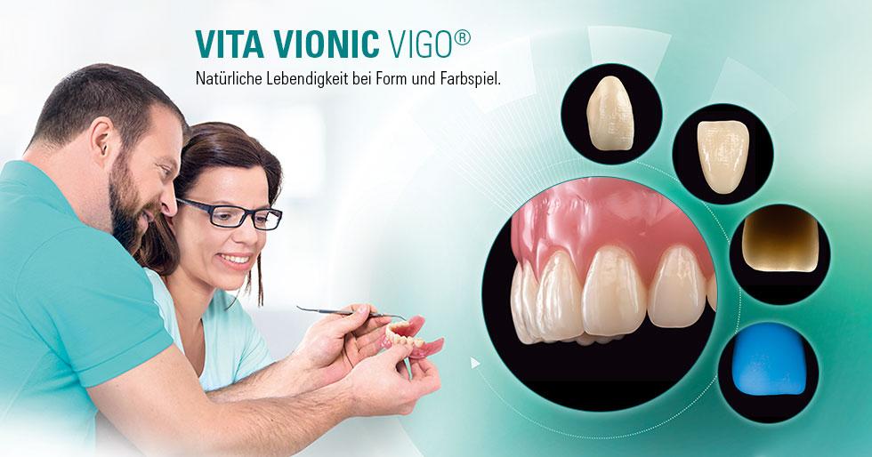VITA VIONIC VIGO®. Digitale Prothetikaufstellung