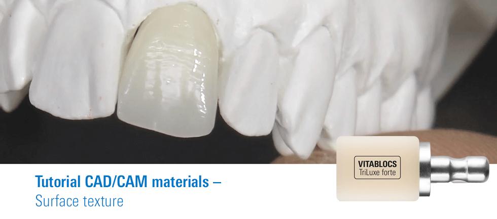 Tutorial VITABLOCS® surface texture