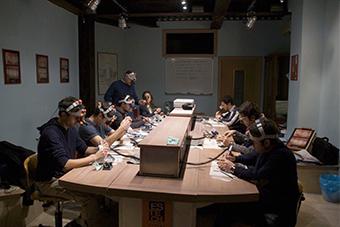 Das Labor von FRancesco Ferretti