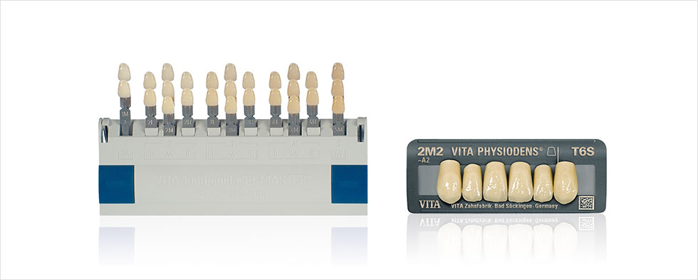 VITA SYSTEM 3D-MASTER, VITA PHYSIODENS acrylic teeth