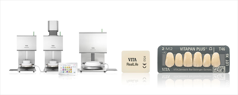 VITA New Generation – Premium-Brenneinheit, VITABLOCS RealLife, VITAPAN PLUS Kunststoffzähne