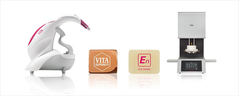 VITA Easyshade Advance 4.0, VITA ENAMIC, VITA SUPRINITY, VITA V60 i-Line