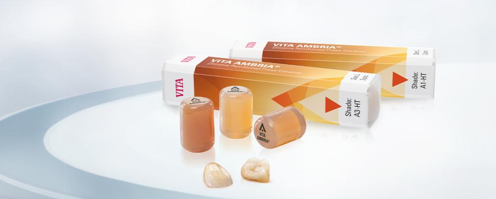 VITA AMBRIA®. Die erste Presskeramik mit VITA FARBMATCH-FORMEL!