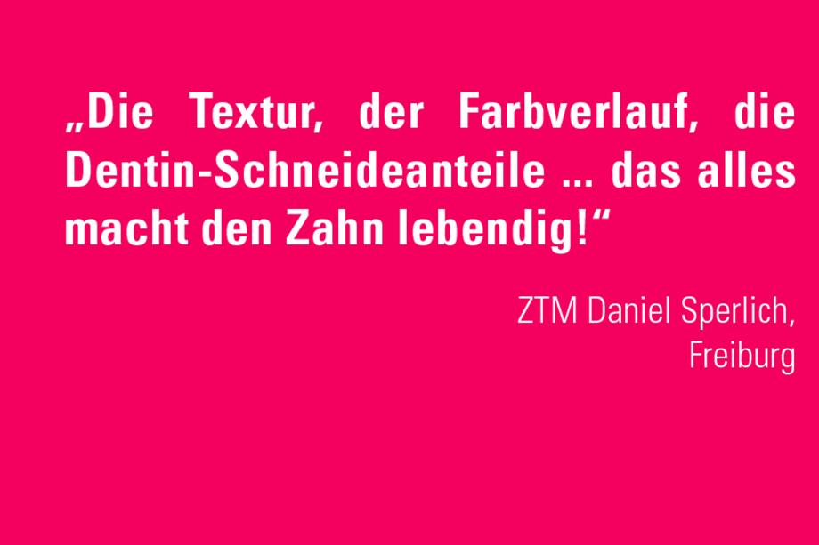 Daniel Sperlich, ZTM Freiburg