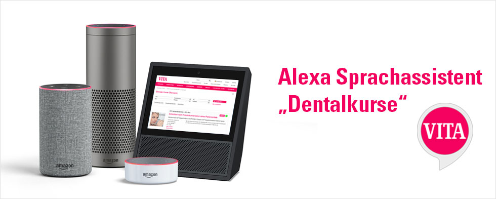 VITA ALEXA Sprachassistent dental kurse