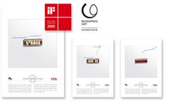iF communication design award 2005 und Nominierung für den Designpreis der Bundesrepublik Deutschland 2007