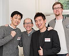 Larsen-Chu Award Gewinner zu Gast bei der VITA Zahnfabrik